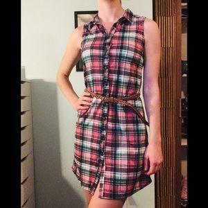 🌵Plaid Dress